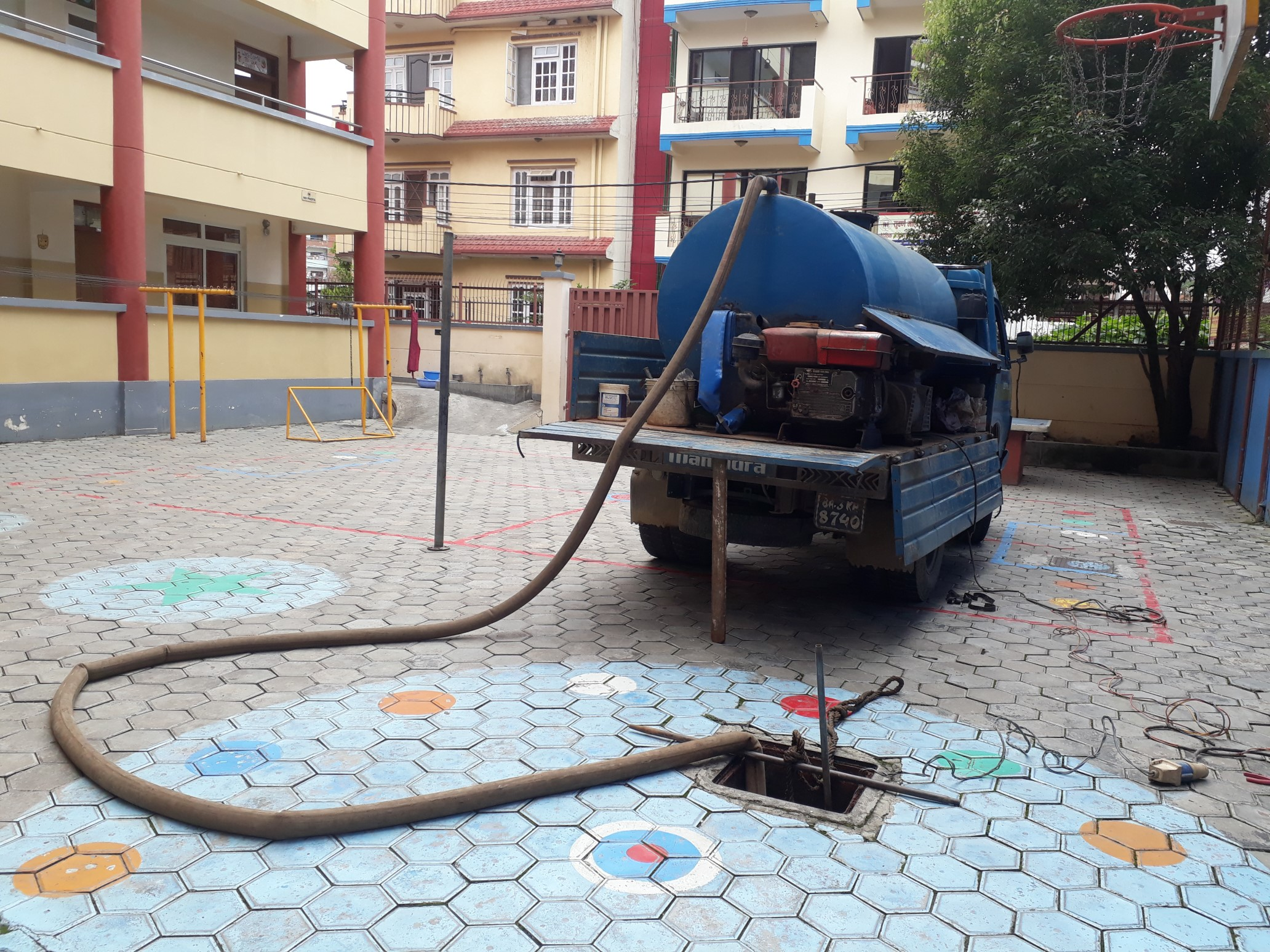 Septic Tank Cleaning in Nepal and Drainage Cleaning Service